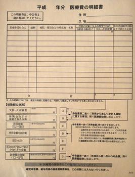 医療費控除ー医療費明細書.JPG