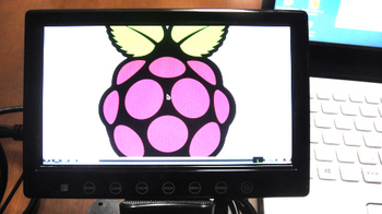 Raspberry Pi displayed to HDMI7inch monitor by 848x480@60Hz.JPG